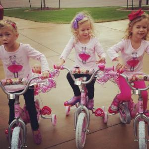 Girls on bikes october 14