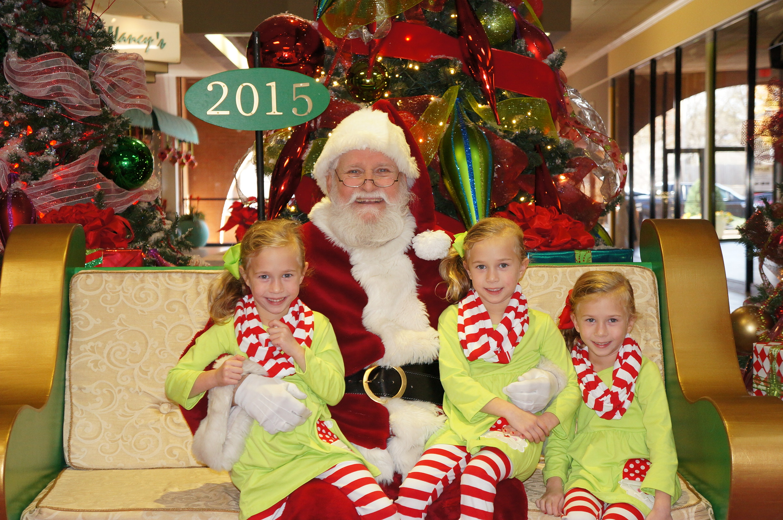 GIrls with Santa 2015