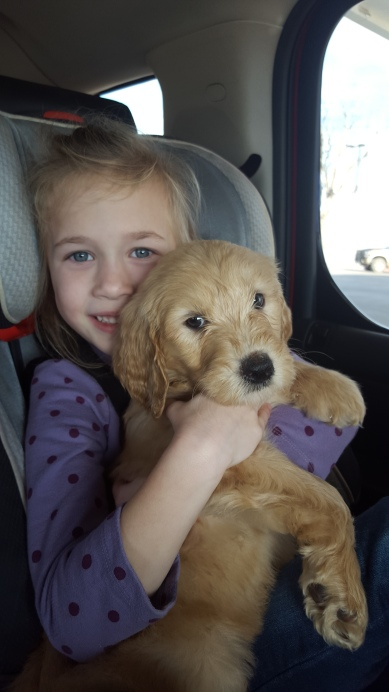 Camdyn with Murphy First Day